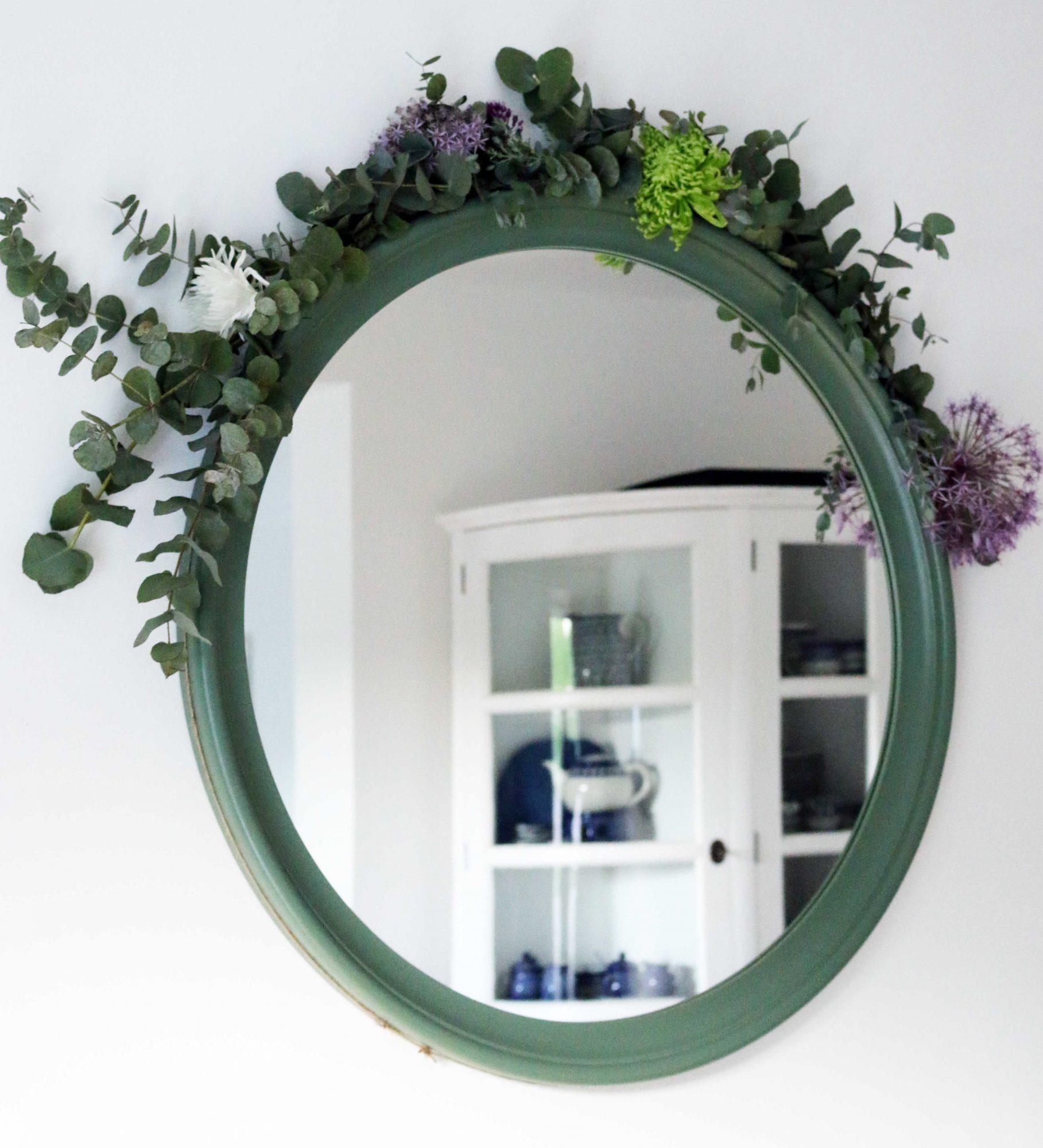 guirlande spiegel