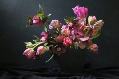 bloemenstilleven tulpen