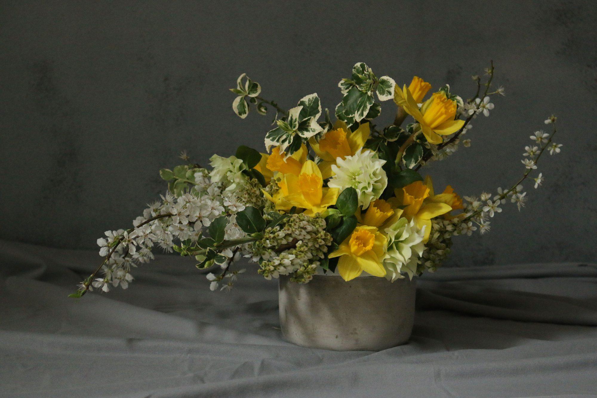 bloemenstilleven met narcis
